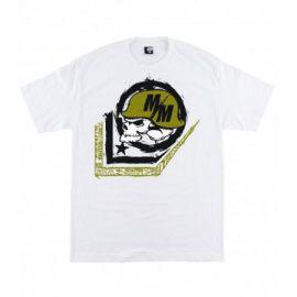 Pánské triko Metal Mulisha SCALE - bílé