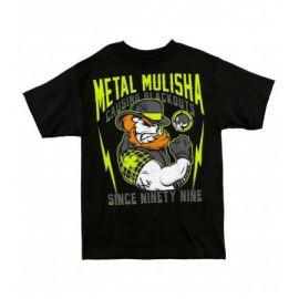 Pánské triko Metal Mulisha KNOCKOUT - černé