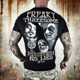 Pánské tričko YAKUZA Freaky - černé