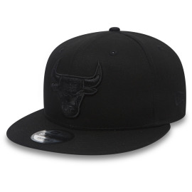 Kšiltovka New Era 950 NBA Chicago Bulls Black On Black