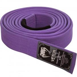 Prémiový BJJ pásek Venum - fialový