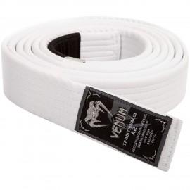 Prémiový BJJ pásek Venum - bílí