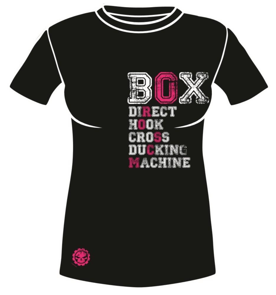 a2cc288875d Dámské sportovní tričko MACHINE BOX - Černé