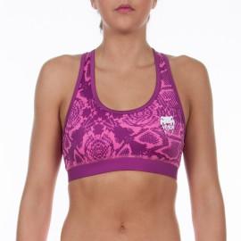 Sportovní podprsenka VENUM Fusion - růžová