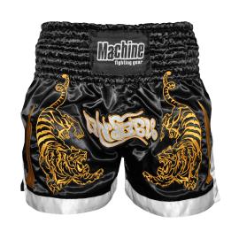 Thaibox trenky MACHINE Tiger - černé