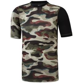 REEBOK Pánské kompresní tričko ACTVCHL COMP - máskáčové