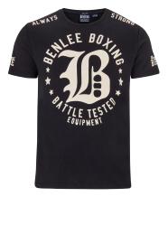Pánské triko BENLEE PENNSBURY černá