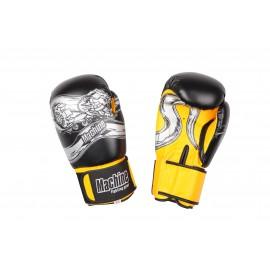 Boxerské rukavice Machine Dragon - černé