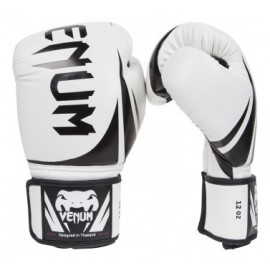 Boxerské rukavice VENUM CHALLENGER 2.0. - Bílé