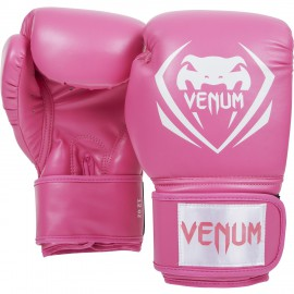 Boxerské rukavice VENUM Contender - Růžové