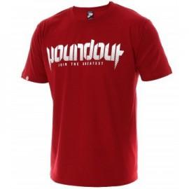 Tričko Poundout Basic - červené