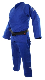 ADIDAS Kimono judo IJF CHAMPION II Regular Fit - modré