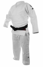 ADIDAS Kimono judo IJF CHAMPION II Slim FIT - bílé