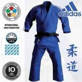 ADIDAS Kimono judo J 930 Slim Fit - modré