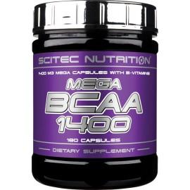 Scitec Nutrition MEGA BCAA 1400, 180CPS