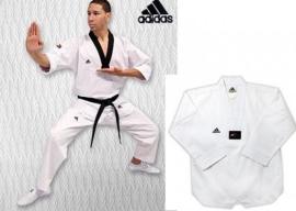 ADIDAS kimono ( Dobok ) WTF ADICHAMP II - bílý lem