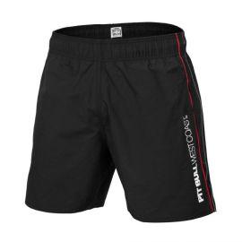PitBull West Coast Plavecké šortky BARK - černé