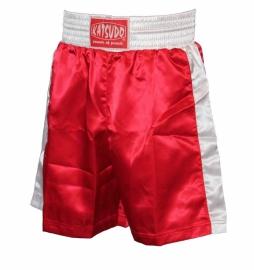 KATSUDO Pánské Boxerské šortky červené