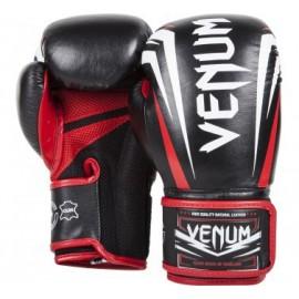 Boxerské rukavice VENUM SHARP - ČERNÉ/ČERVENÉ