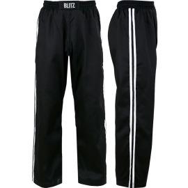 Plátěné kalhoty BLITZ FULL CONTACT - ČERNO/BÍLÉ