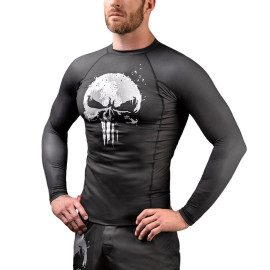 Rashguard HAYABUSA The Punisher - černý