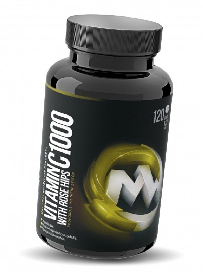 Maxxwin Vitamín C 1000 With Rose Hips - 120 tbl