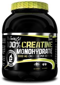 Biotech 100 % Micronized Creatine Monohydrate - 500g