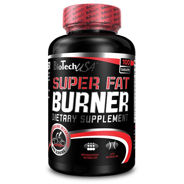 Biotech Super Fat Burner - 120 tbl