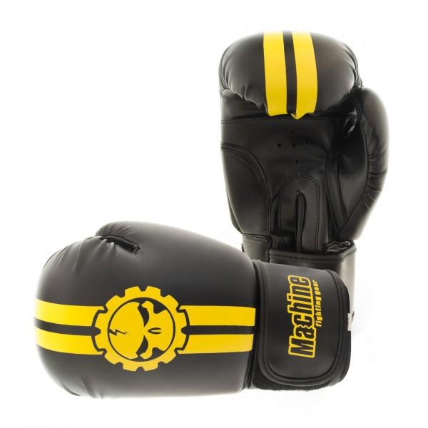 Boxerské rukavice Machine Fast - černo / žluté