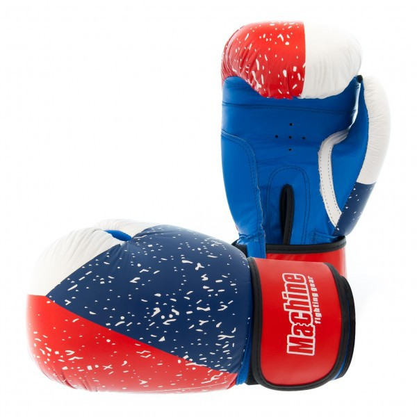 Boxerské rukavice Machine Czech Flag - Kůže