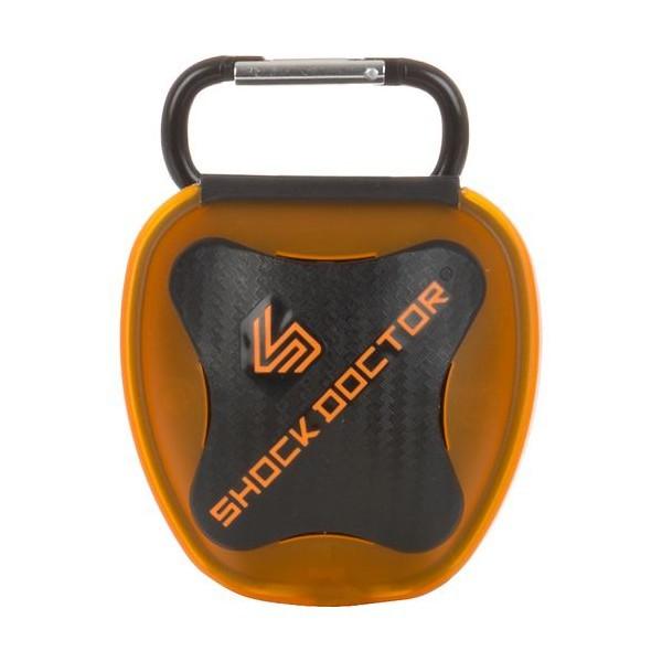 Shock Doctor Antibakteriální krabička na chrániče zubů - oranžová