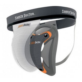 Shock Doctor suspenzor - Carbon