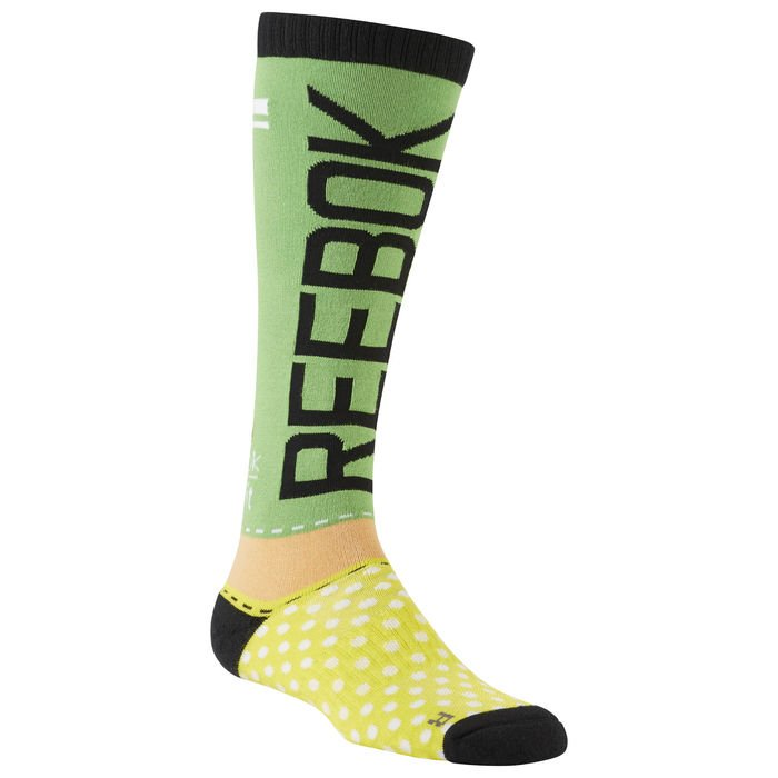 Podkolenky Reebok CROSSFIT ENGINEERED KNEE HIGH SOCK AJ6660