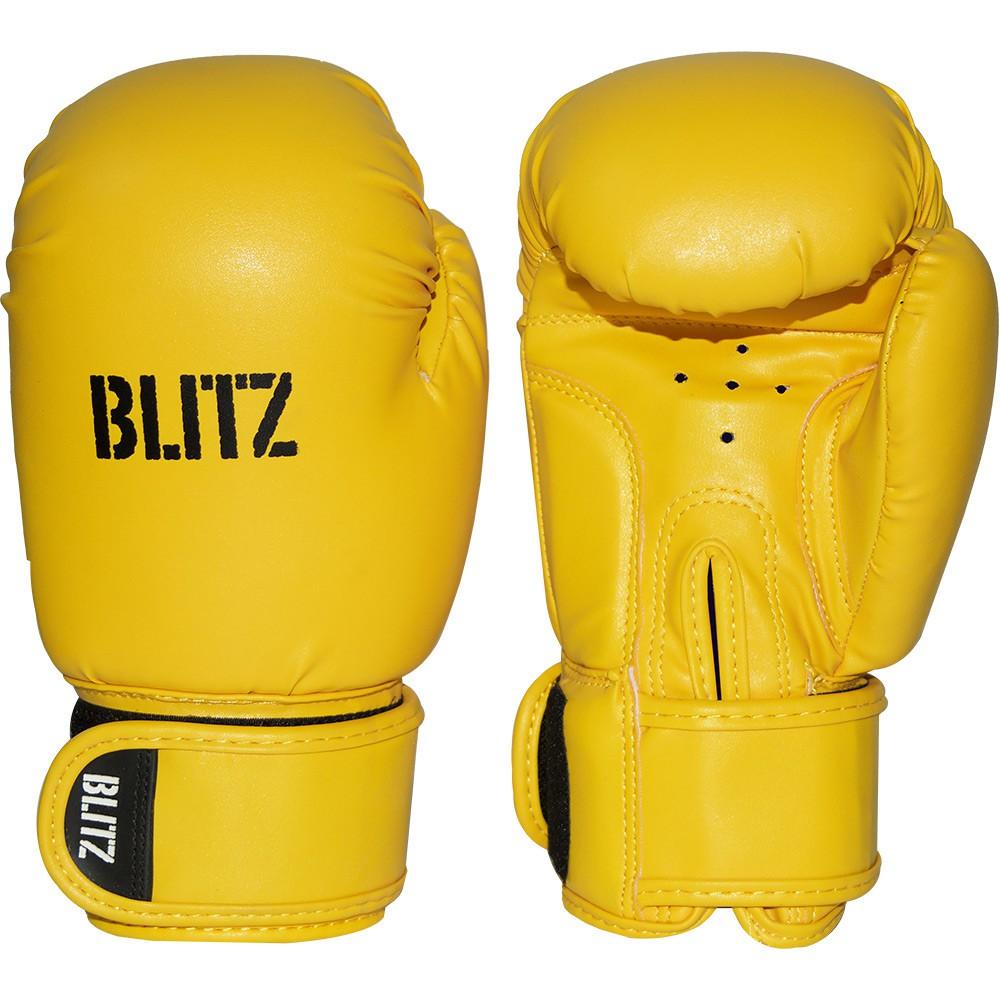 Dětské Boxerské rukavice BLITZ PU - žluté
